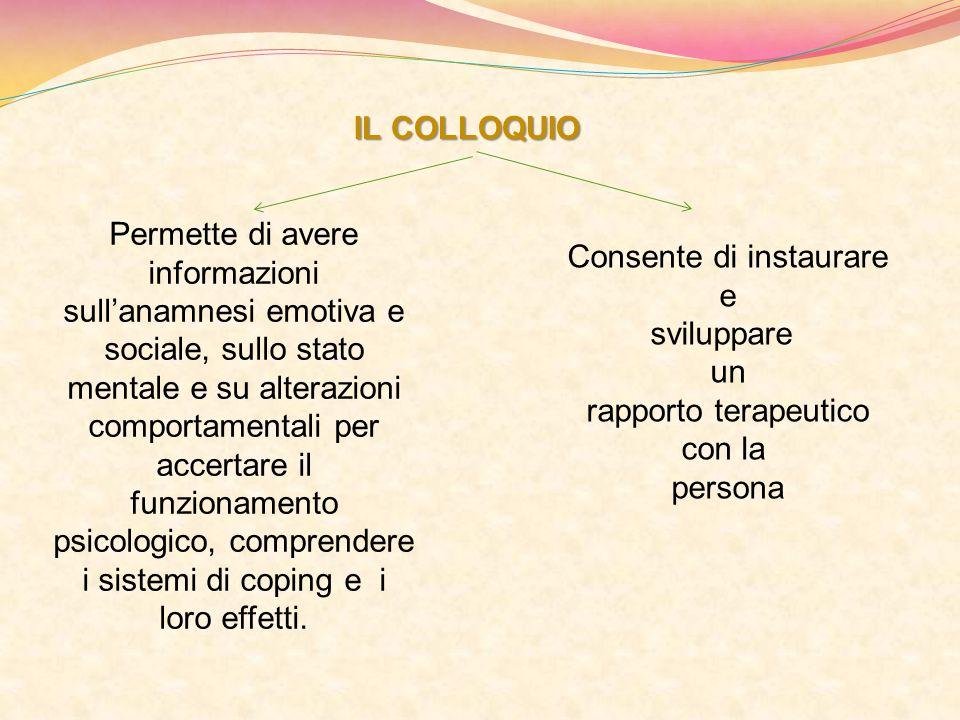 psicologico, comprendere i sistemi di coping e i loro effetti.