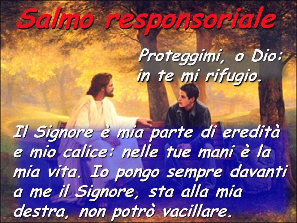Salmo responsoriale in te mi rifugio.