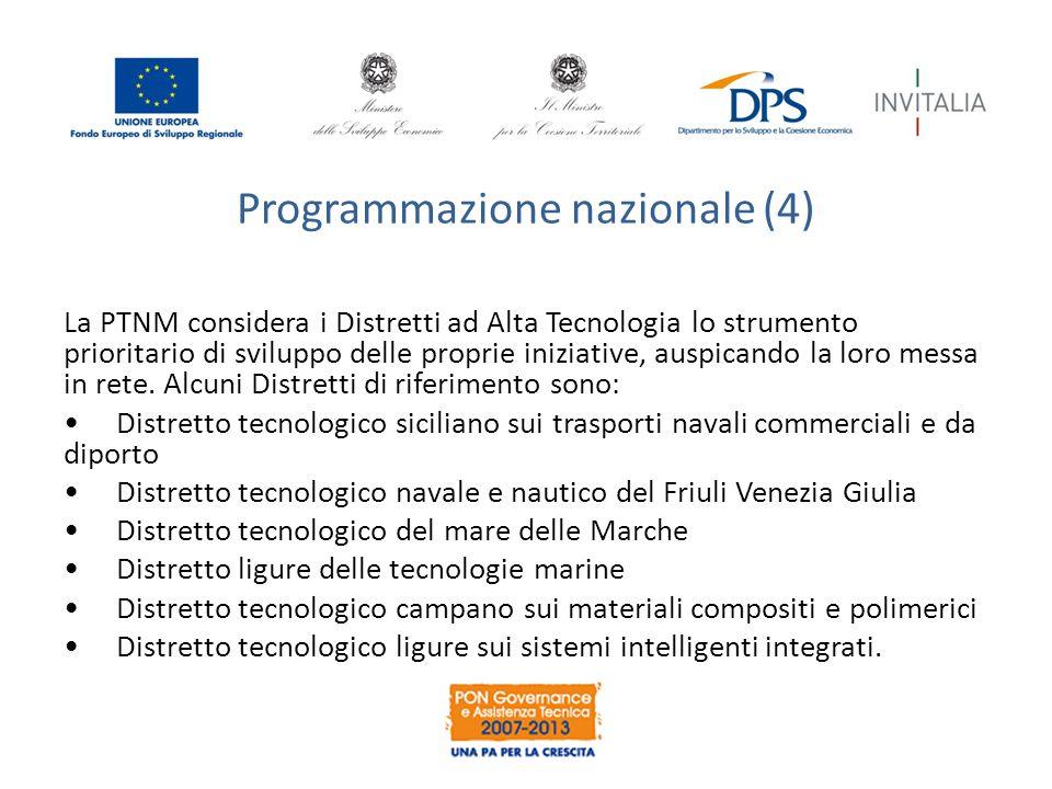 Programmazione nazionale (4)