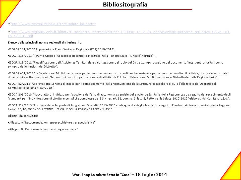 WorkShop La salute Fatta in Case – 18 luglio 2014