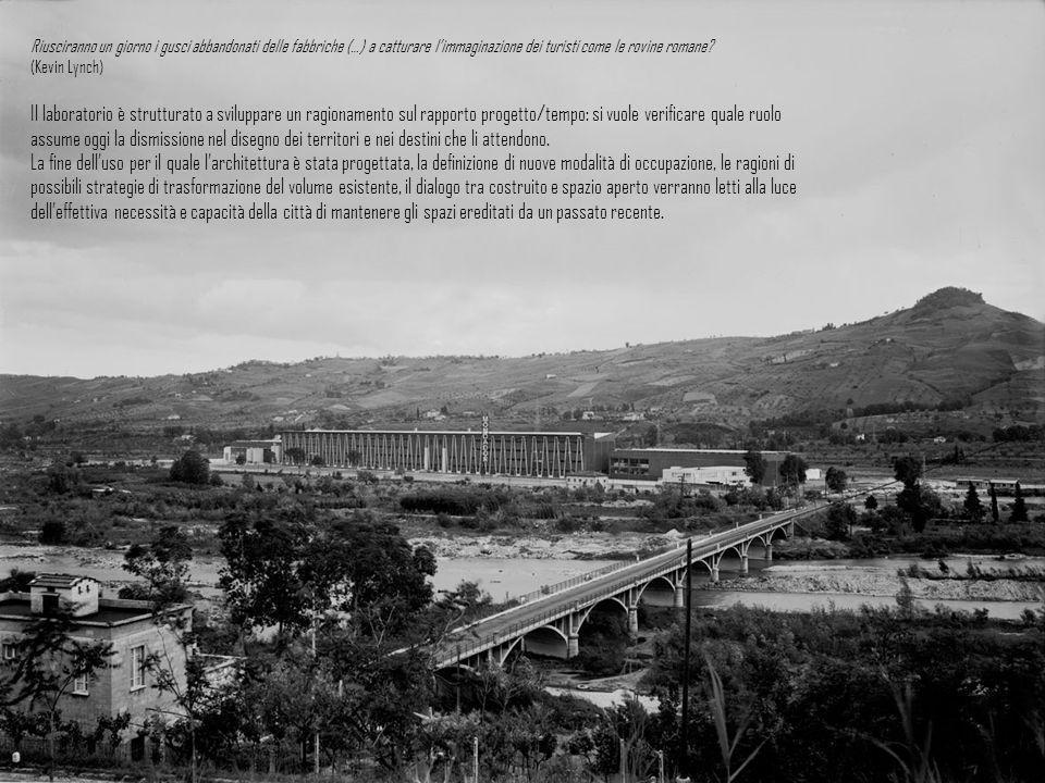 Riusciranno un giorno i gusci abbandonati delle fabbriche (…) a catturare l'immaginazione dei turisti come le rovine romane (Kevin Lynch)
