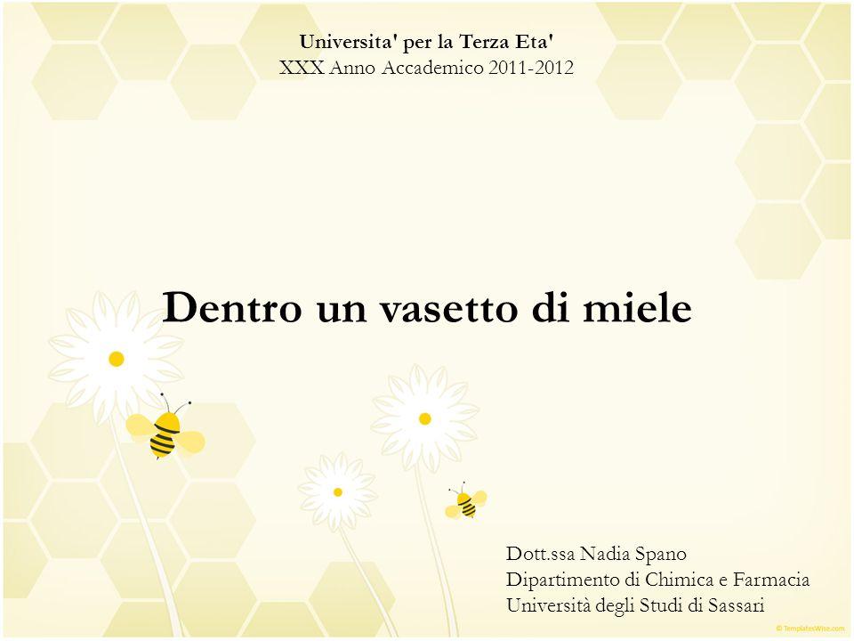 Universita per la Terza Eta Dentro un vasetto di miele
