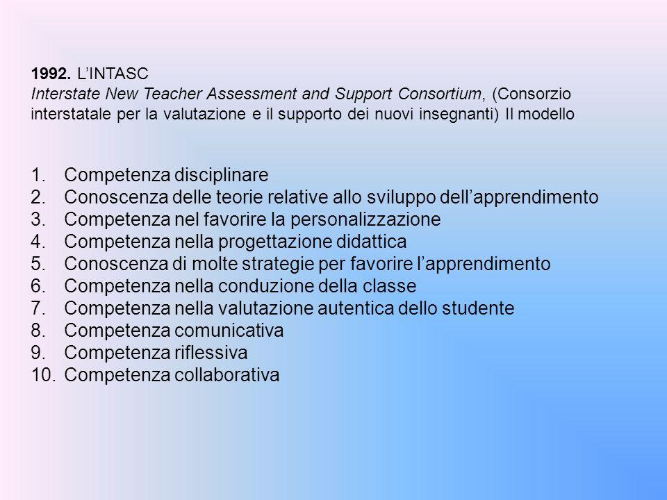 Competenza disciplinare