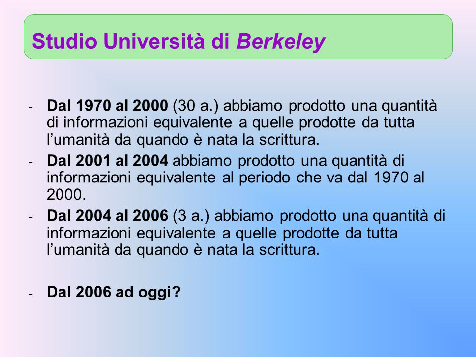 Studio Università di Berkeley