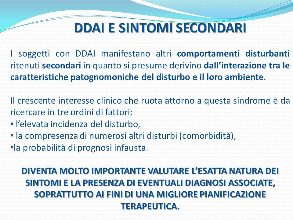 DDAI E SINTOMI SECONDARI