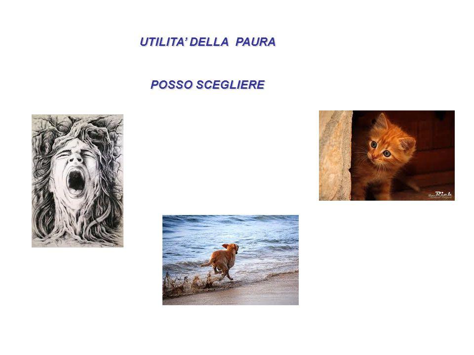 UTILITA' DELLA PAURA POSSO SCEGLIERE