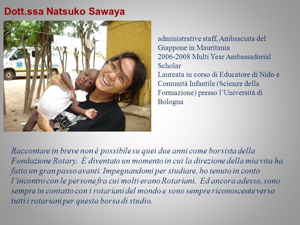 Dott.ssa Natsuko Sawaya