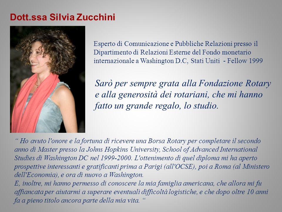 Dott.ssa Silvia Zucchini