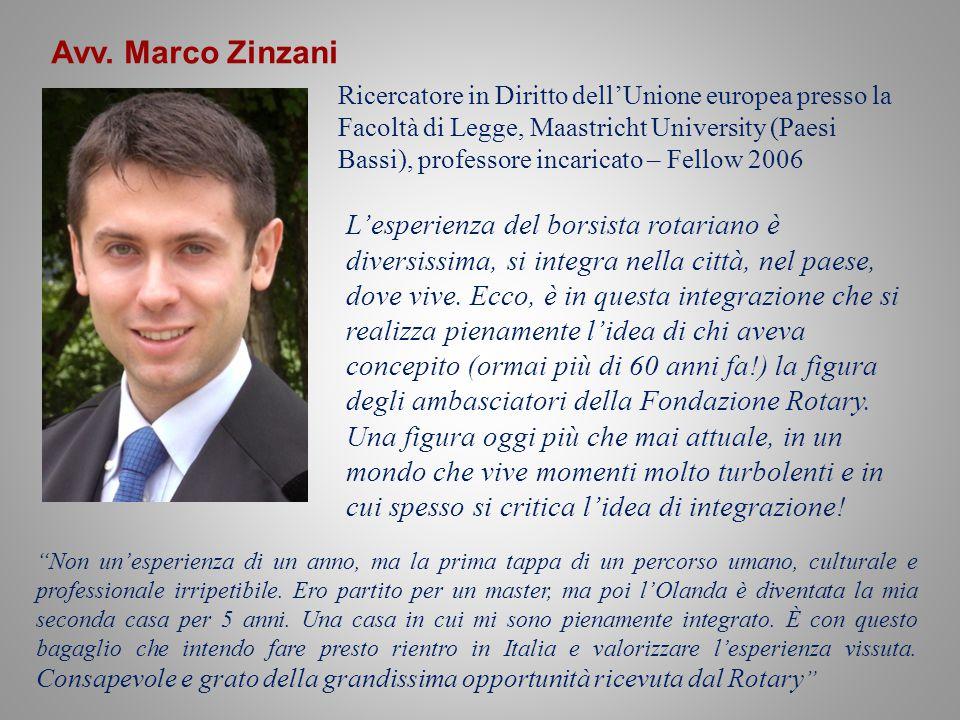 Avv. Marco Zinzani