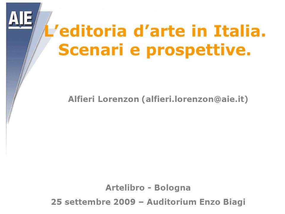 L'editoria d'arte in Italia. Scenari e prospettive.
