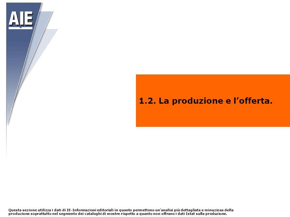 1.2. La produzione e l'offerta.