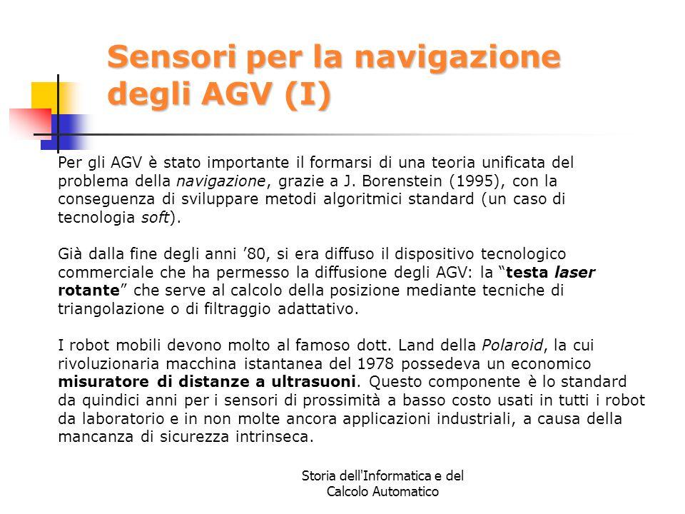 Sensori per la navigazione degli AGV (I)