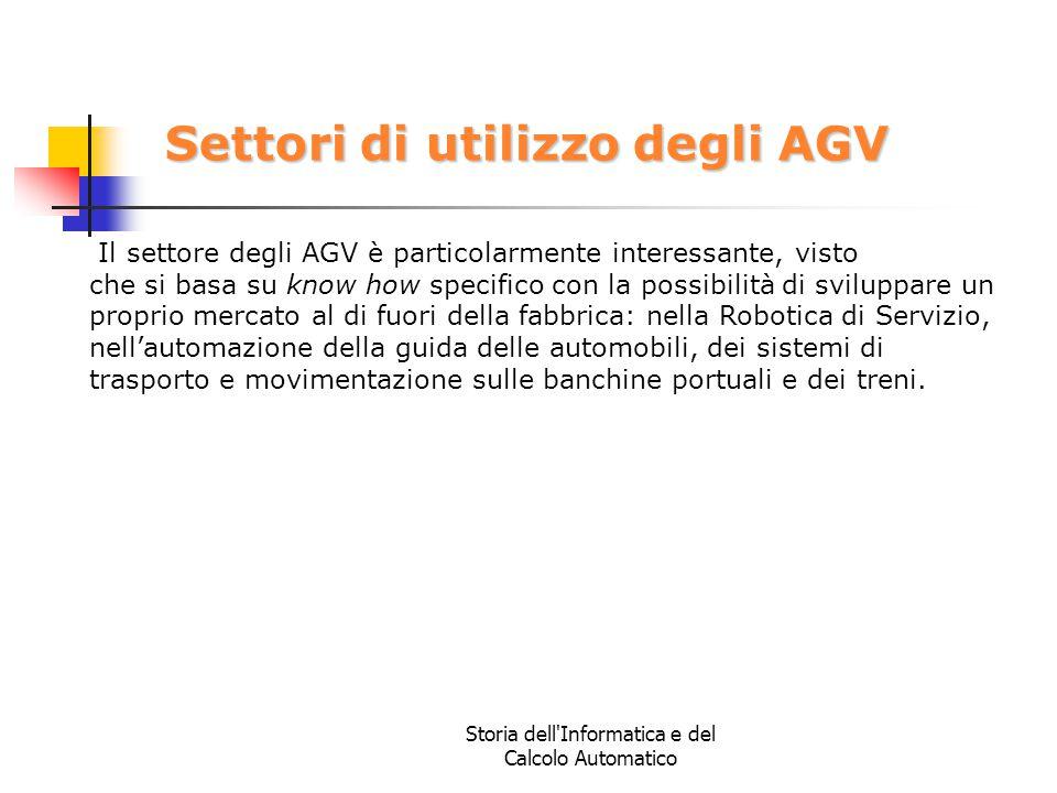 Settori di utilizzo degli AGV