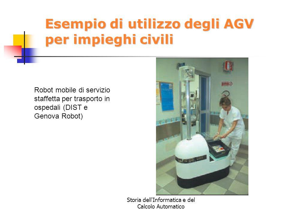 Esempio di utilizzo degli AGV per impieghi civili