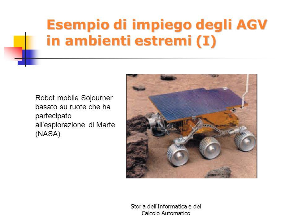 Esempio di impiego degli AGV in ambienti estremi (I)