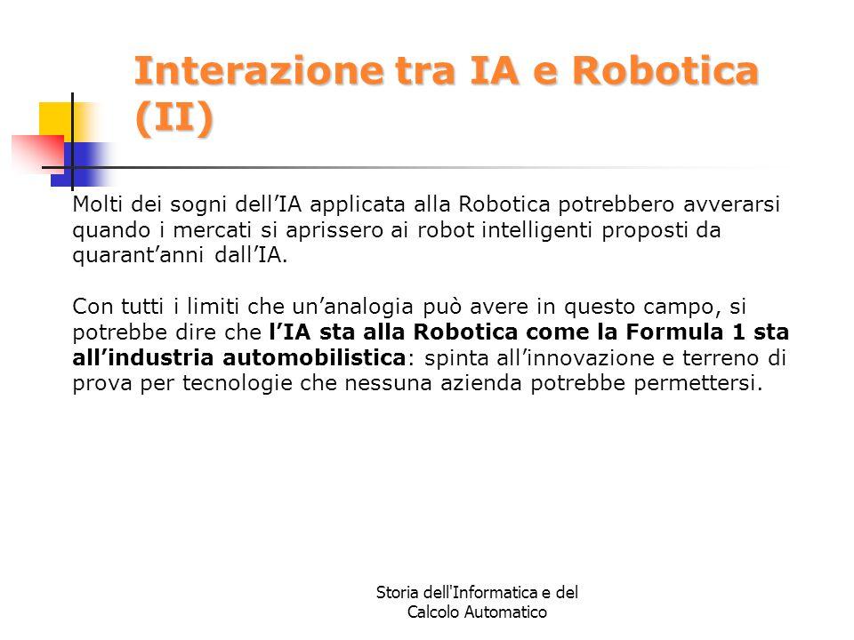 Interazione tra IA e Robotica (II)