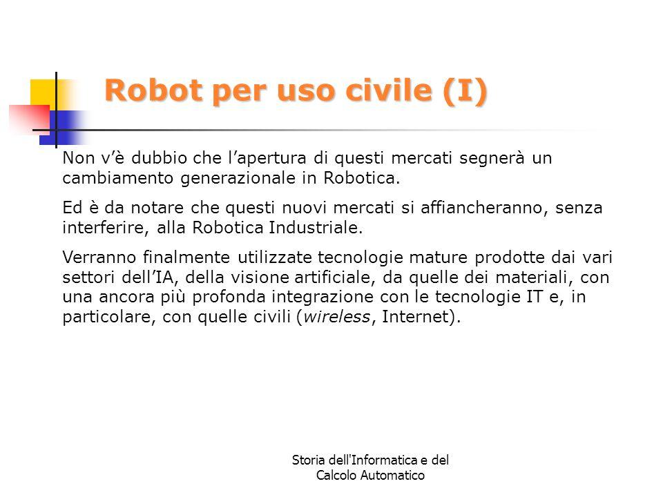 Robot per uso civile (I)