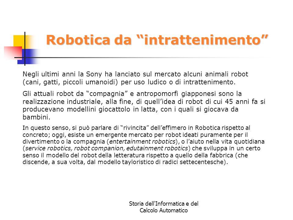 Robotica da intrattenimento