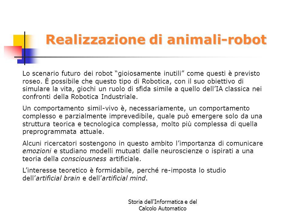 Realizzazione di animali-robot
