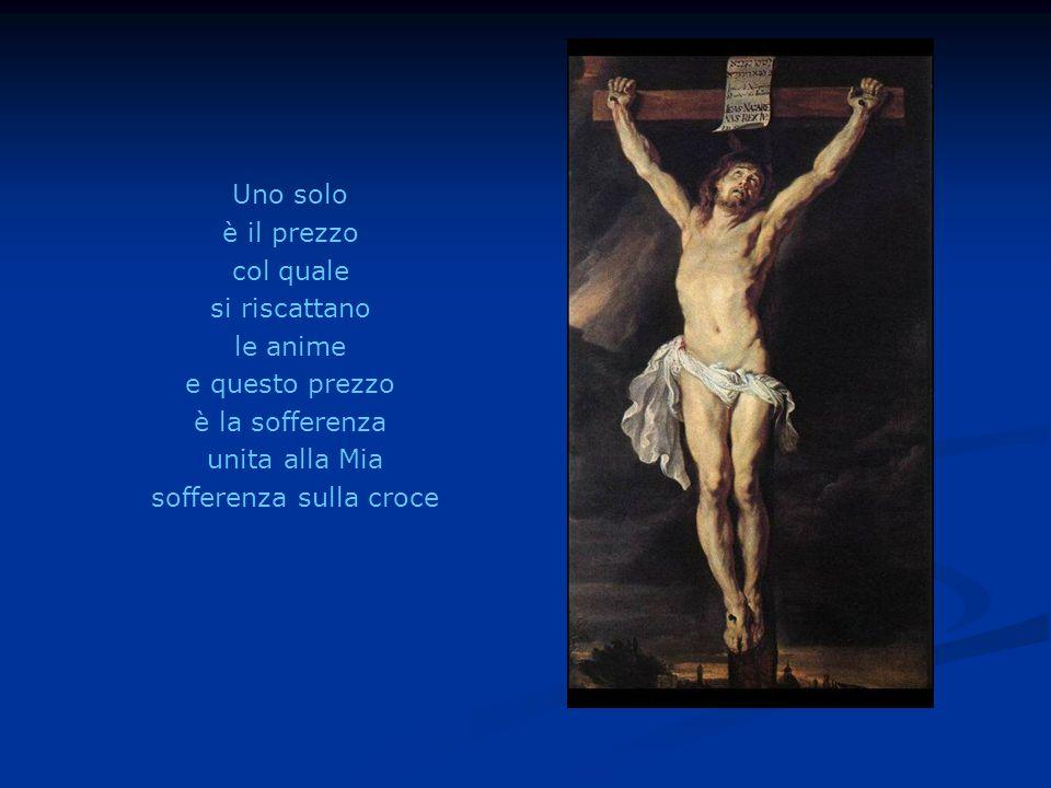 sofferenza sulla croce