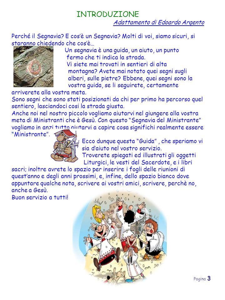 INTRODUZIONE Adattamento di Edoardo Argento