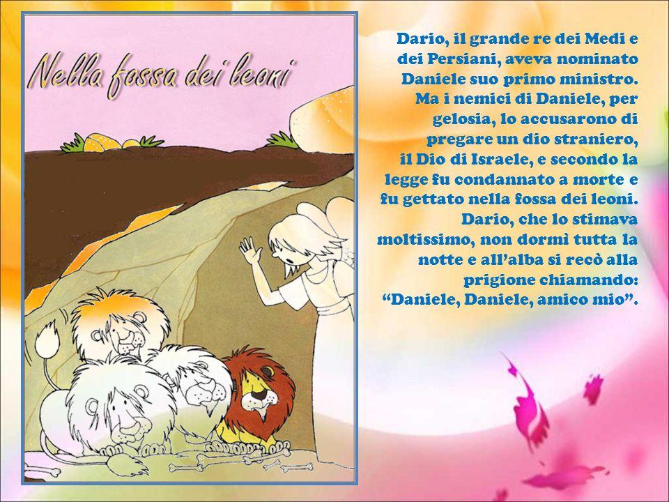 Dario, il grande re dei Medi e dei Persiani, aveva nominato Daniele suo primo ministro.