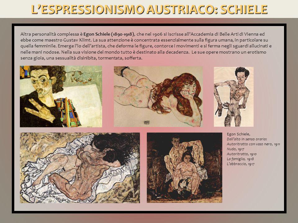 L'ESPRESSIONISMO AUSTRIACO: SCHIELE