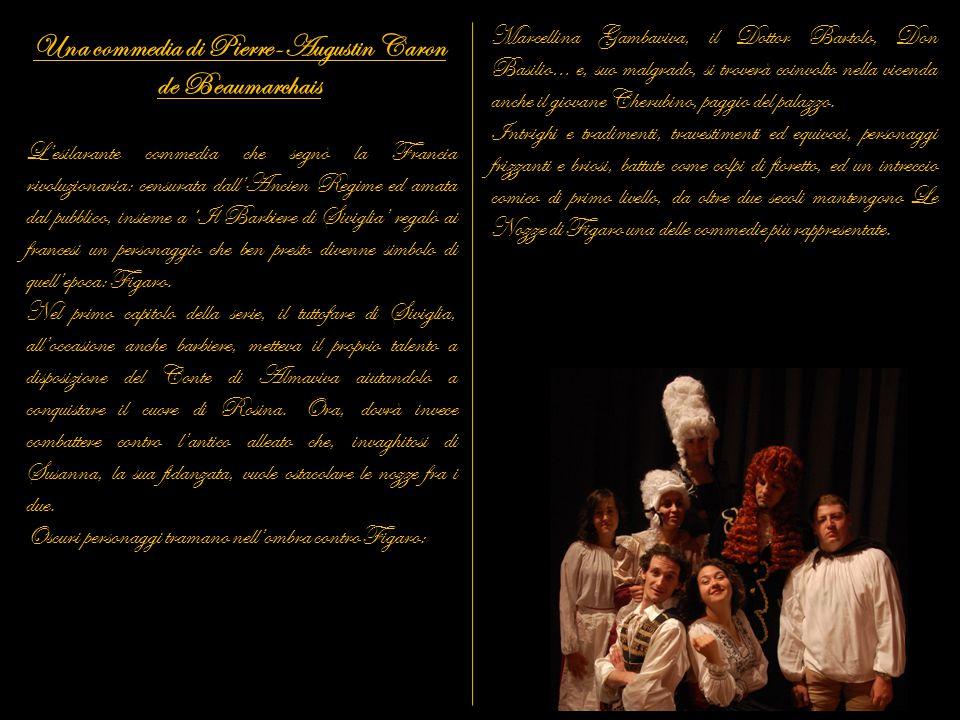 Una commedia di Pierre-Augustin Caron de Beaumarchais