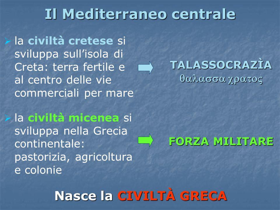 Il Mediterraneo centrale