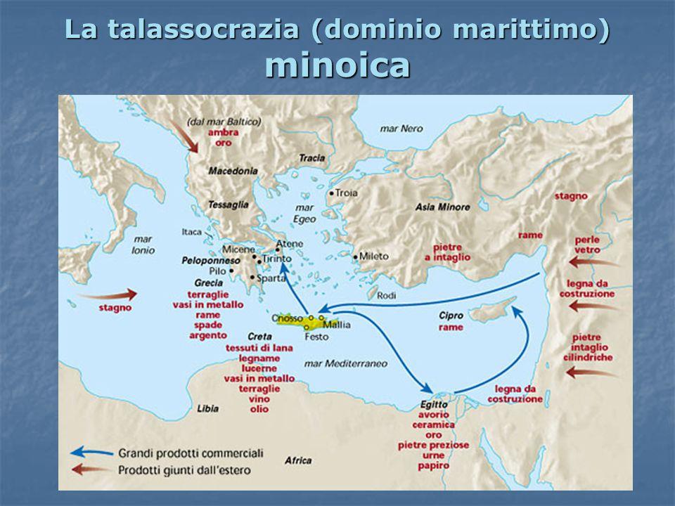 La talassocrazia (dominio marittimo) minoica