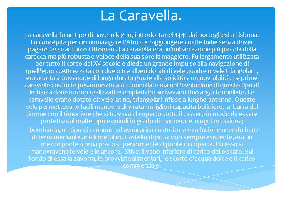 La Caravella.