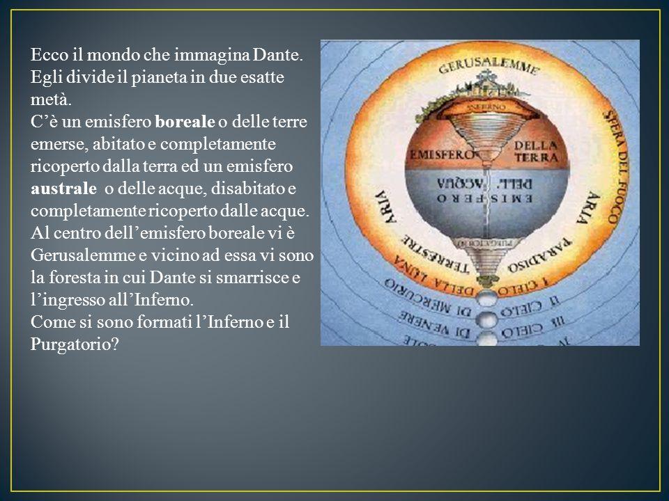 Ecco il mondo che immagina Dante.