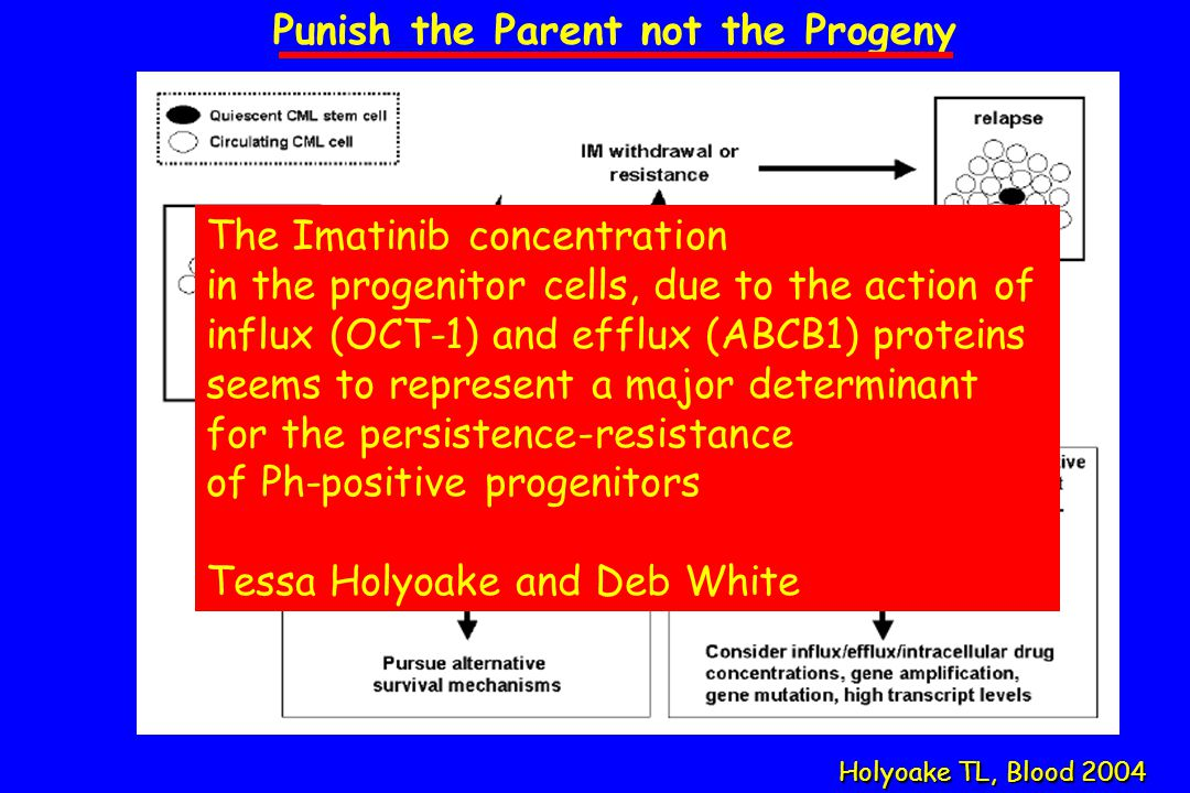 Punish the Parent not the Progeny