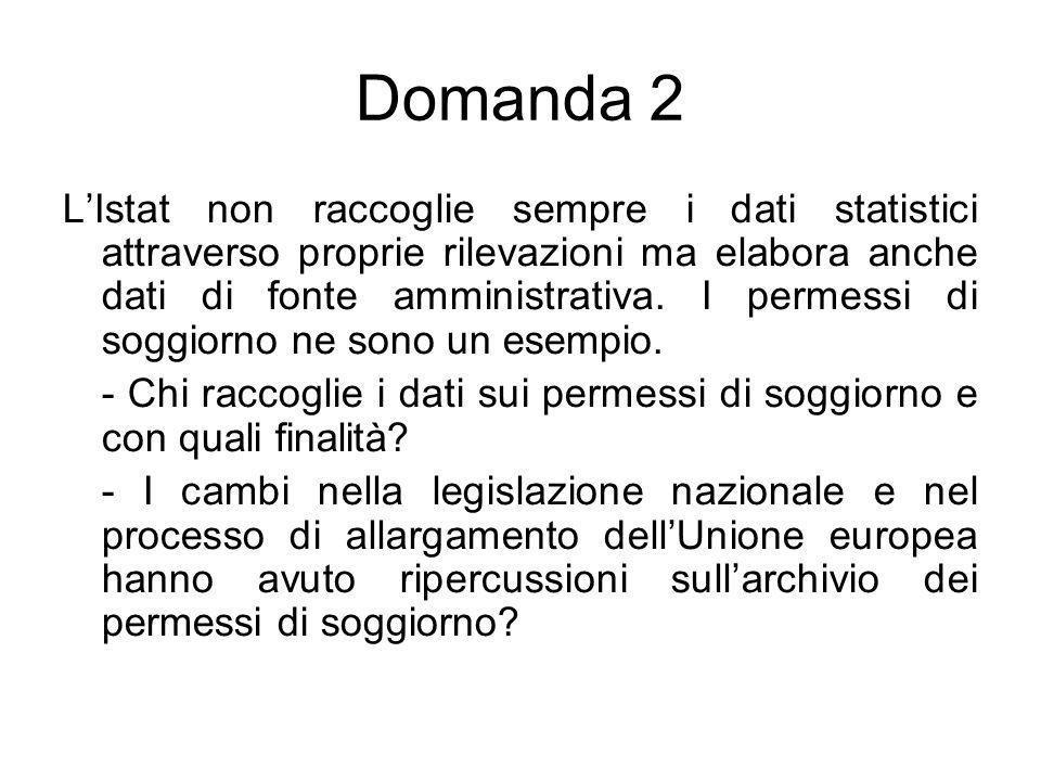 Domanda 2