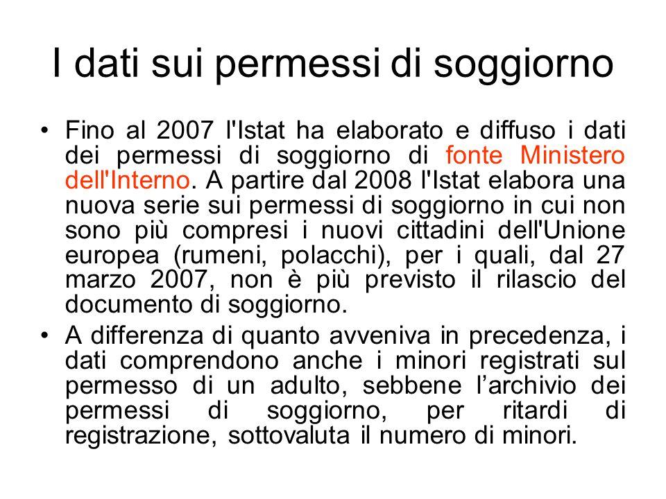 L importanza della statistica ufficiale il ruolo dell for Ministero dell interno immigrazione permesso di soggiorno