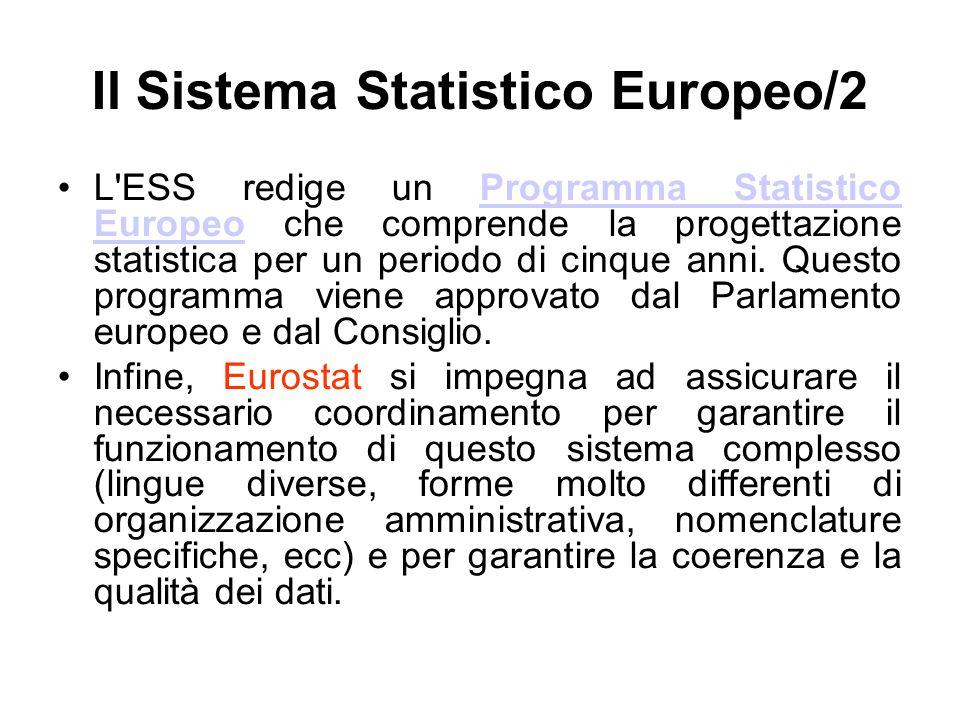 Il Sistema Statistico Europeo/2