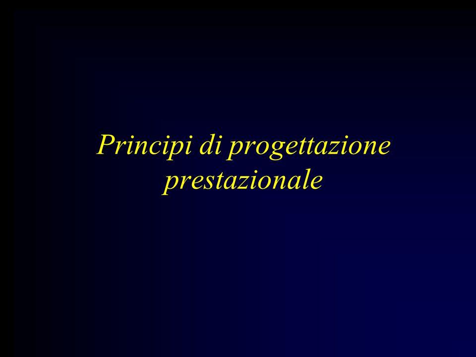 Principi di progettazione prestazionale