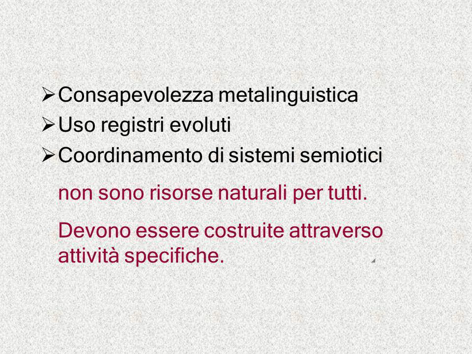 Consapevolezza metalinguistica