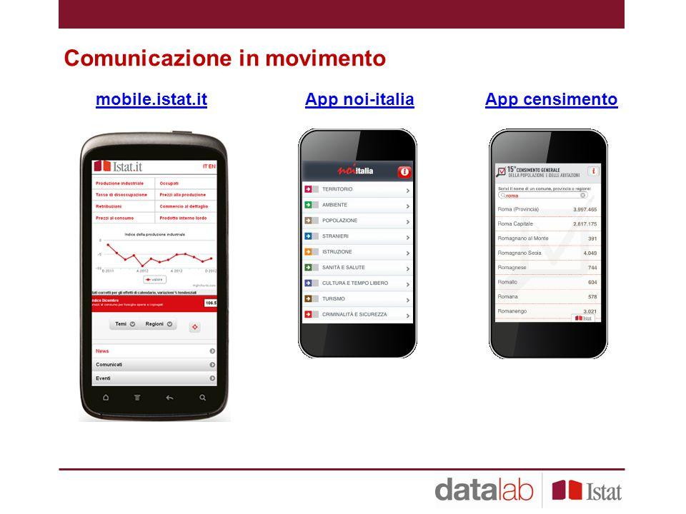 Comunicazione in movimento