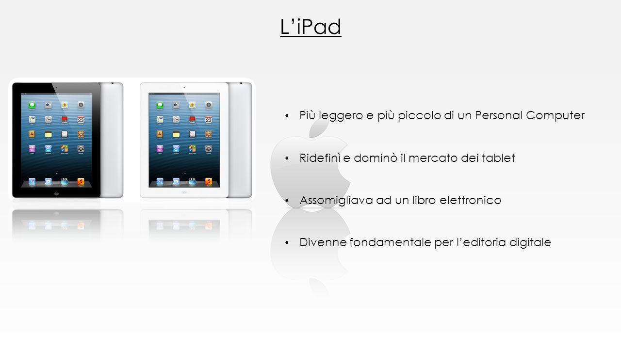 L'iPad Più leggero e più piccolo di un Personal Computer