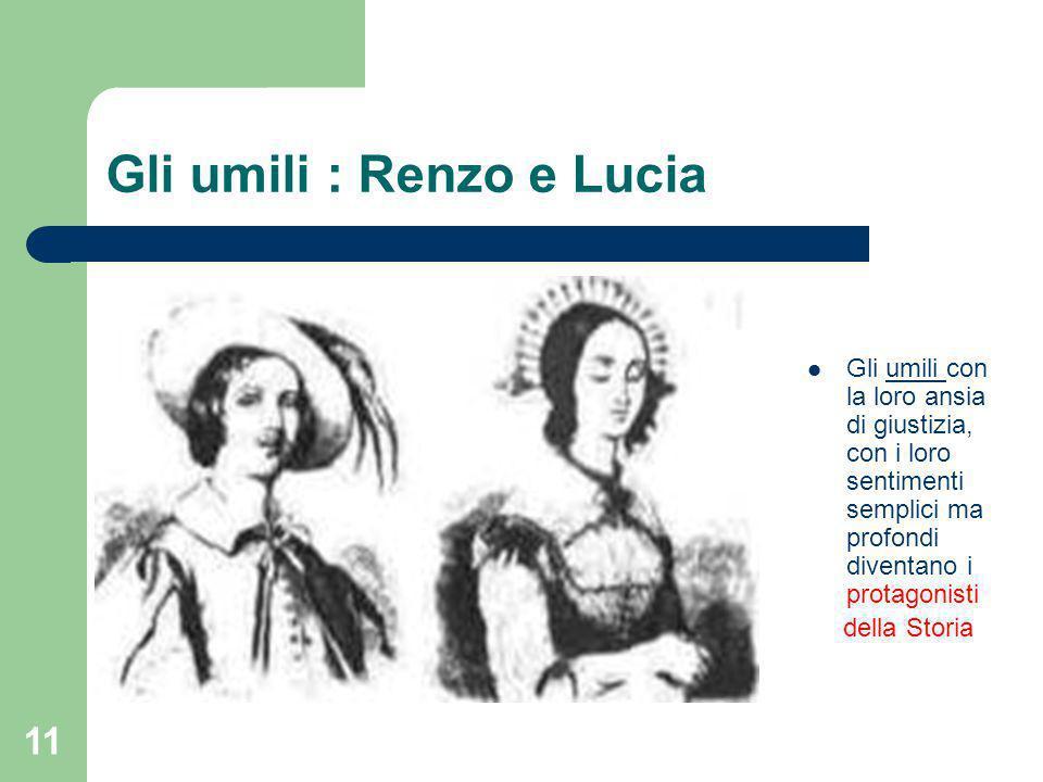 Gli umili : Renzo e Lucia