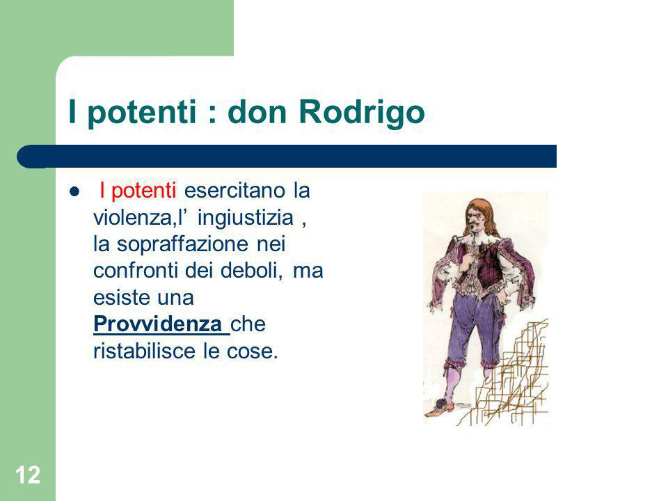 I potenti : don Rodrigo