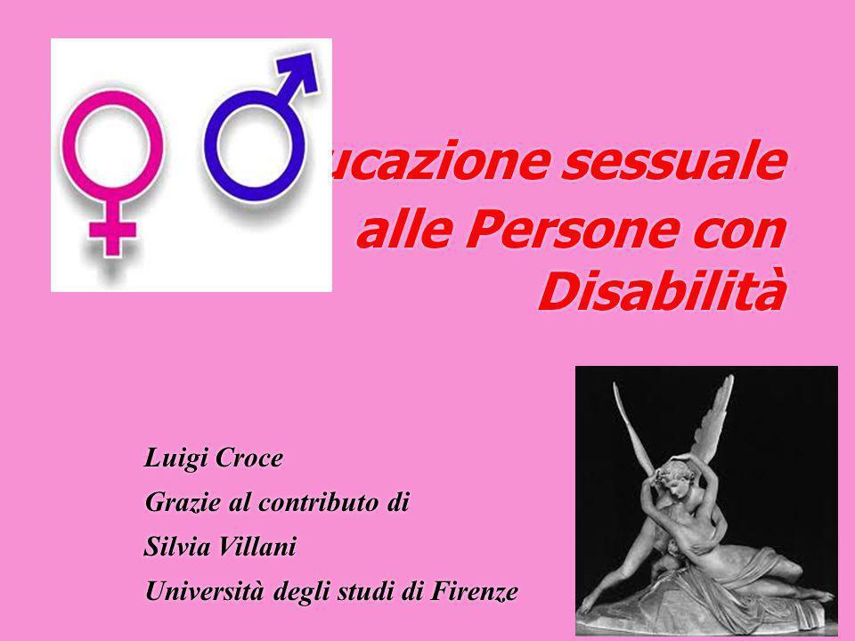 L'educazione sessuale alle Persone con Disabilità