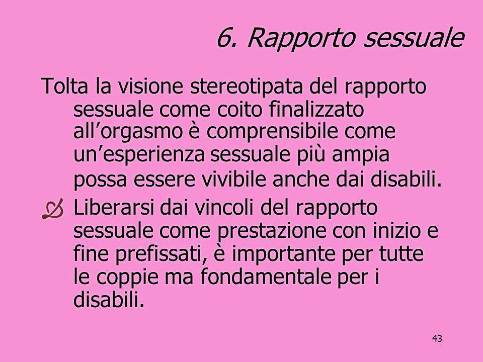 6. Rapporto sessuale
