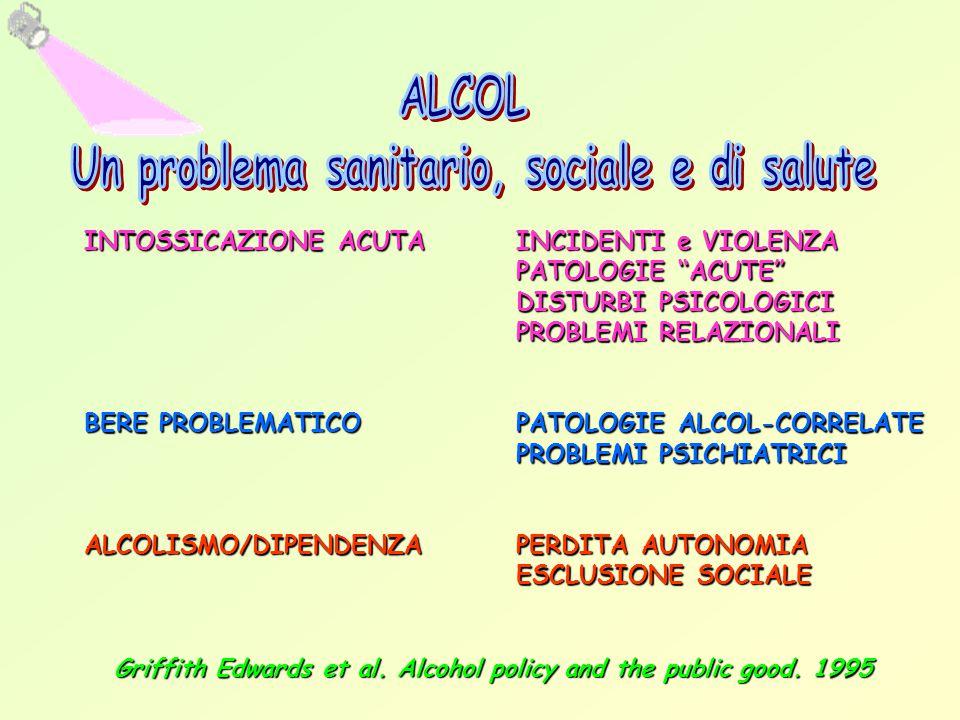 Un problema sanitario, sociale e di salute