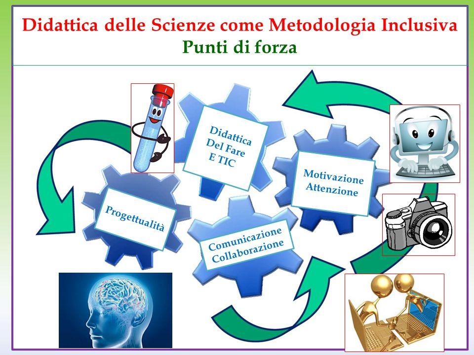 Didattica delle Scienze come Metodologia Inclusiva Punti di forza