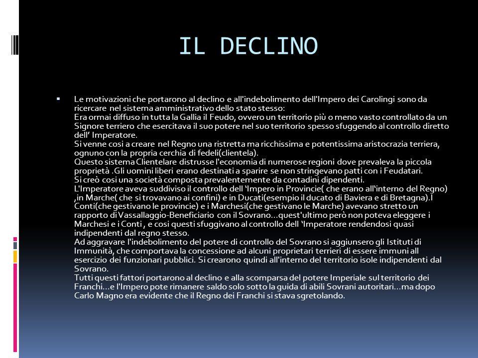 IL DECLINO