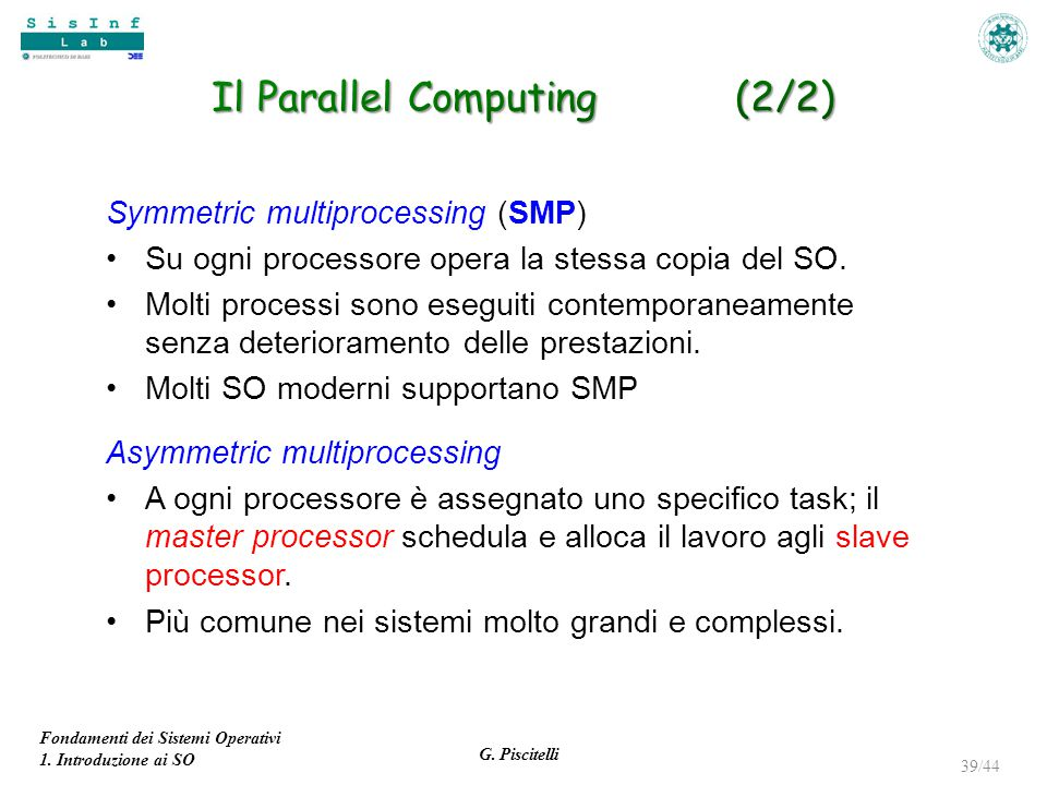 Il Parallel Computing (2/2)