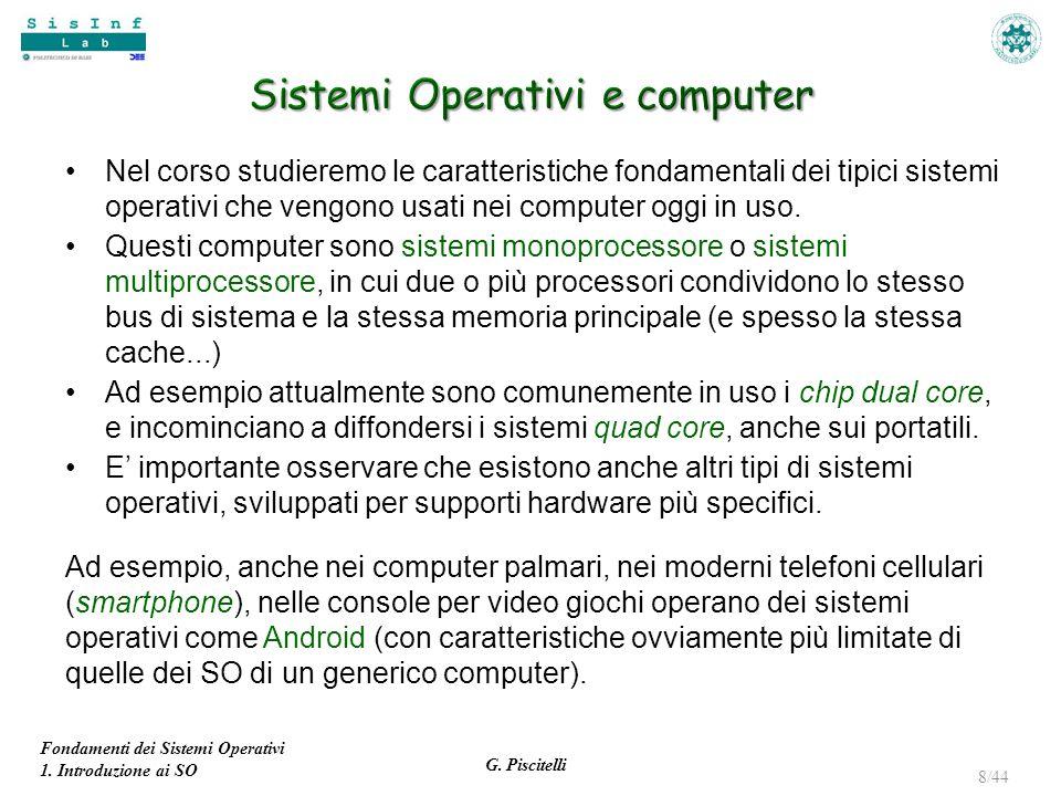Sistemi Operativi e computer
