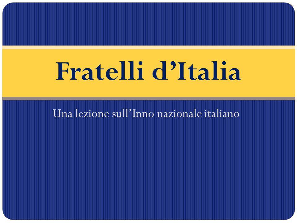 Una lezione sull'Inno nazionale italiano